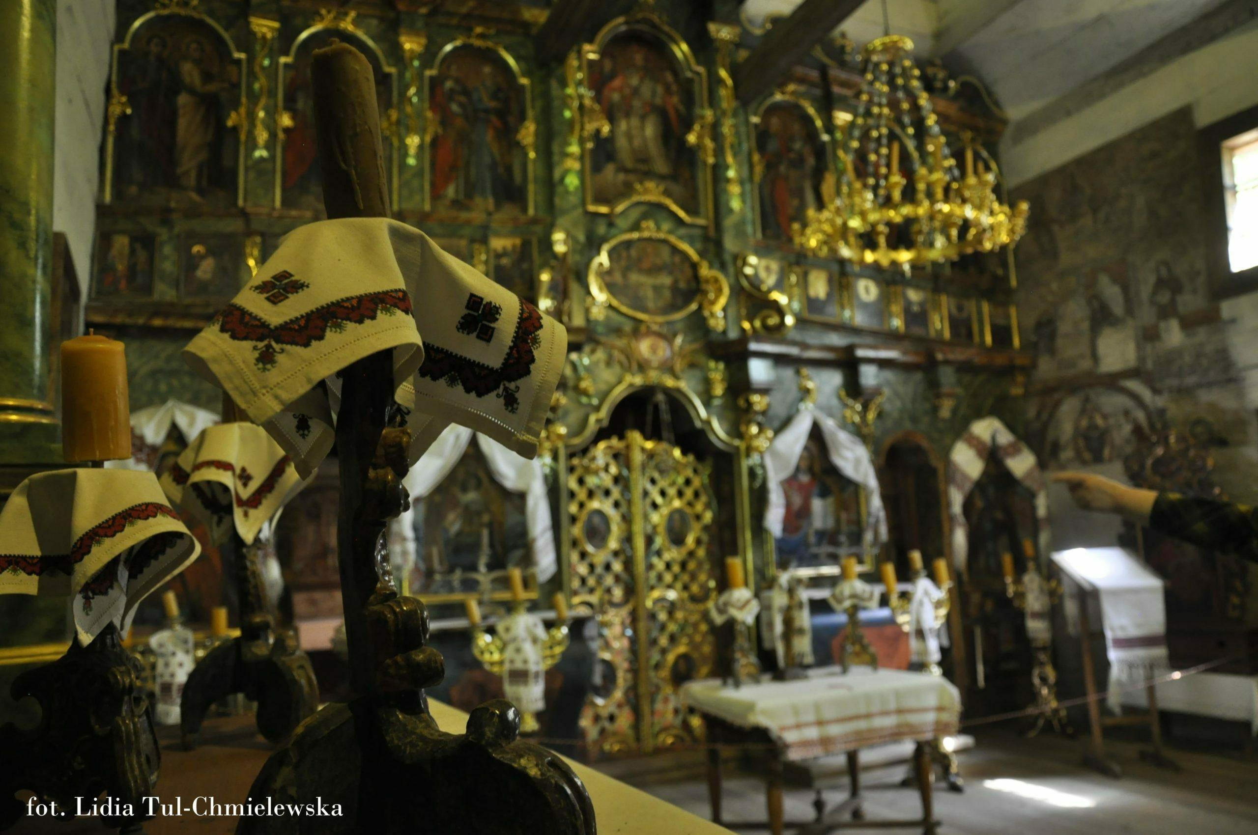 Cerkiew i ikonostas fot. Lidia Tul-Chmielewska