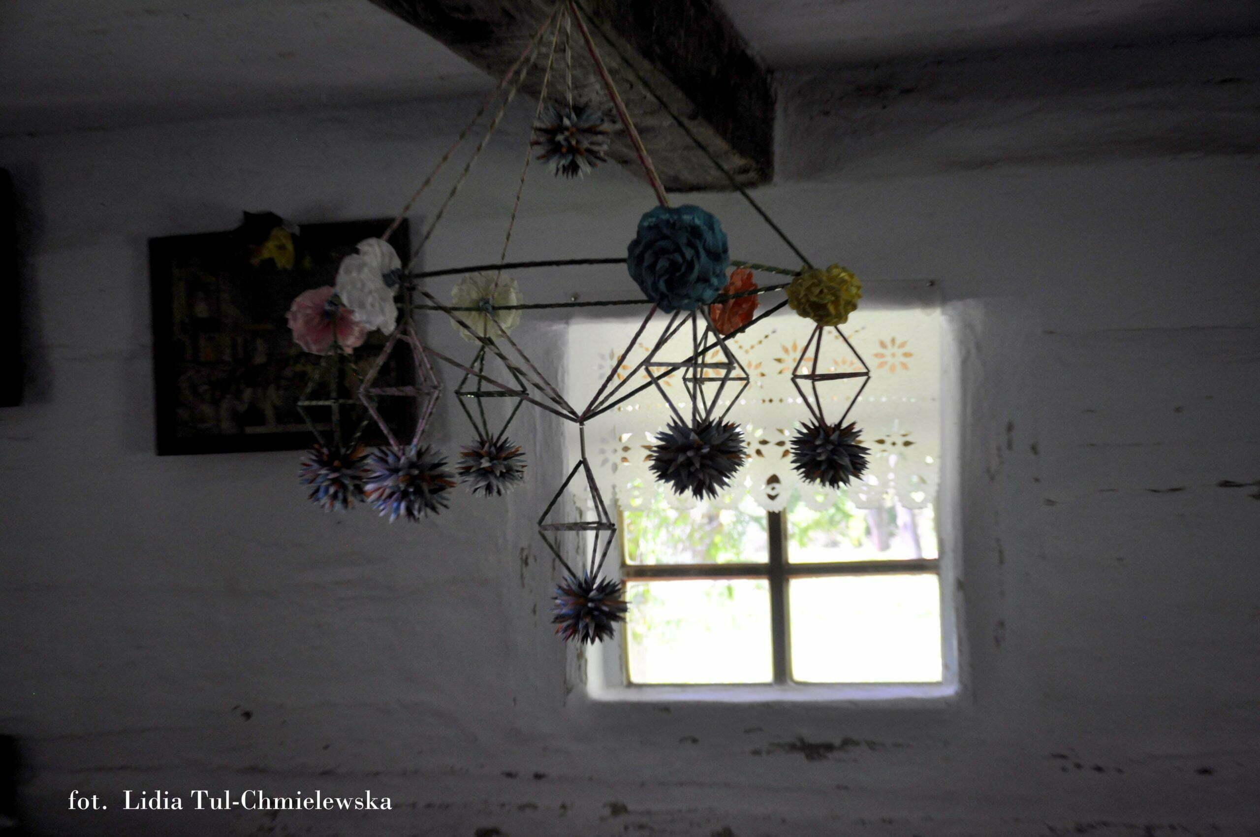 Ozdoby świąteczne tzw. pająki fot. Lidia Tul-Chmielewska