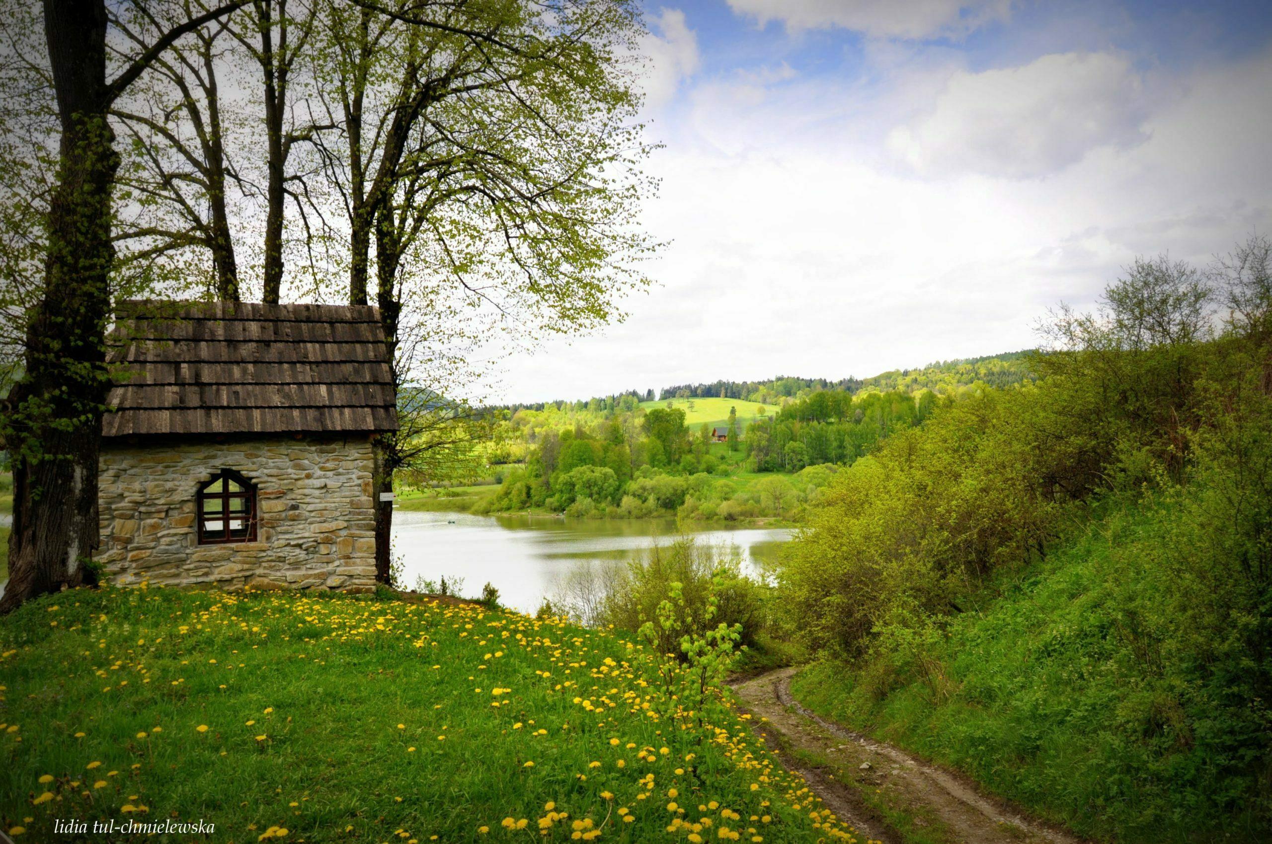 Rajskie - kapliczka na Hrabe / fot. Lidia Tul-Chmielewska