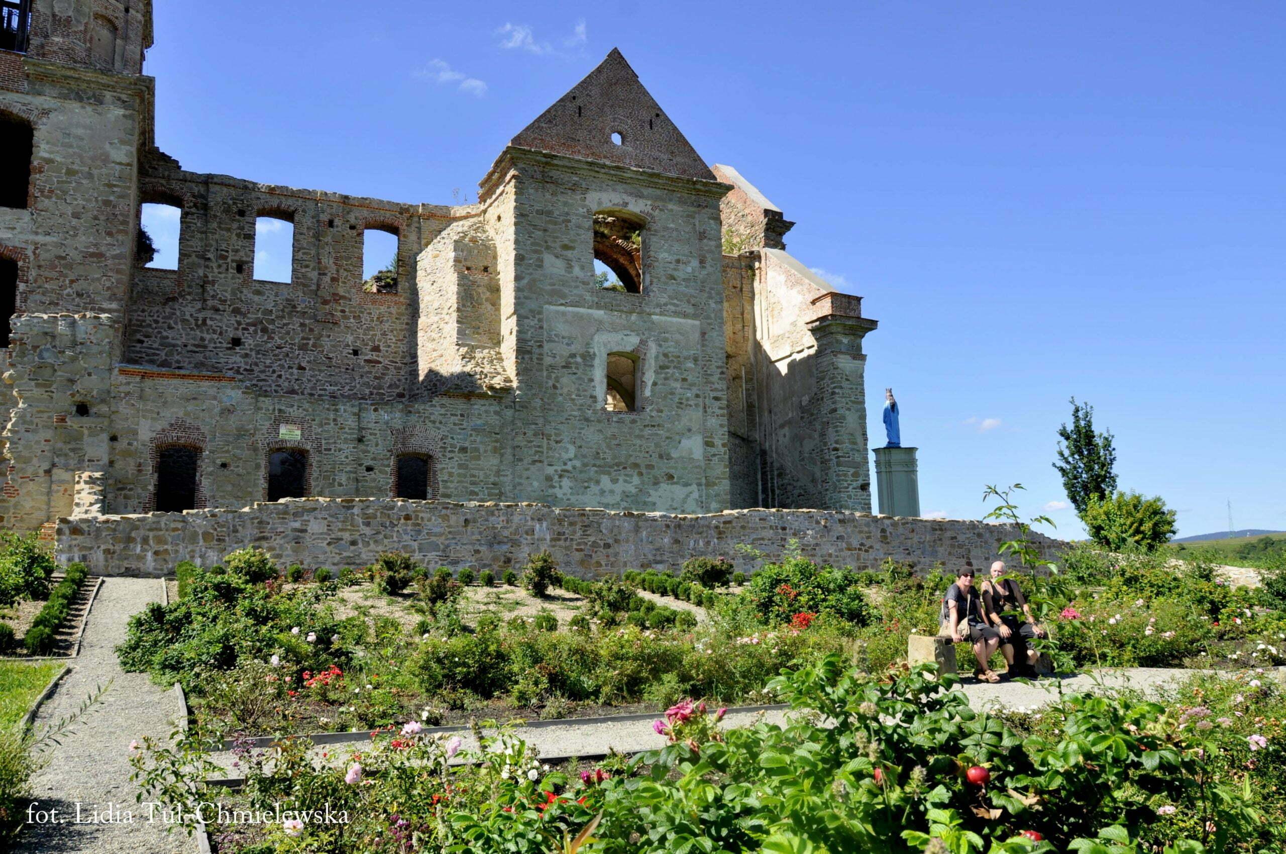 Ruiny Klasztoru Karmelitów w Zagórzu fot. Lidia Tul-Chmielewska