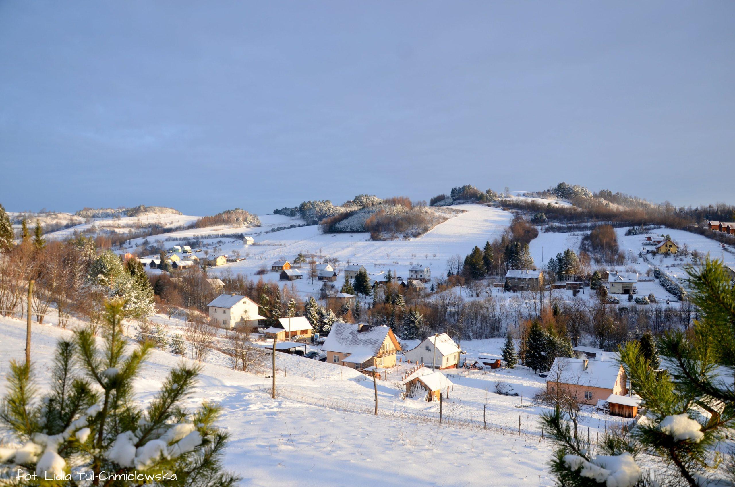 Uroki zimy w Bieszczadach fot. Lidia Tul-Chmielewska