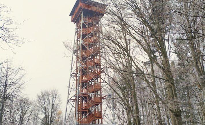 Wieża widokowa w Mucznem / fot. Mariusz Dziob