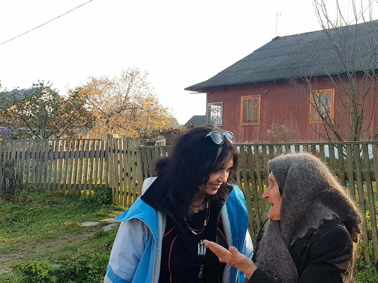 Rozmowy z mieszkańcami zakarpackiej wsi .arch. Lidia Tul-Chmielewska