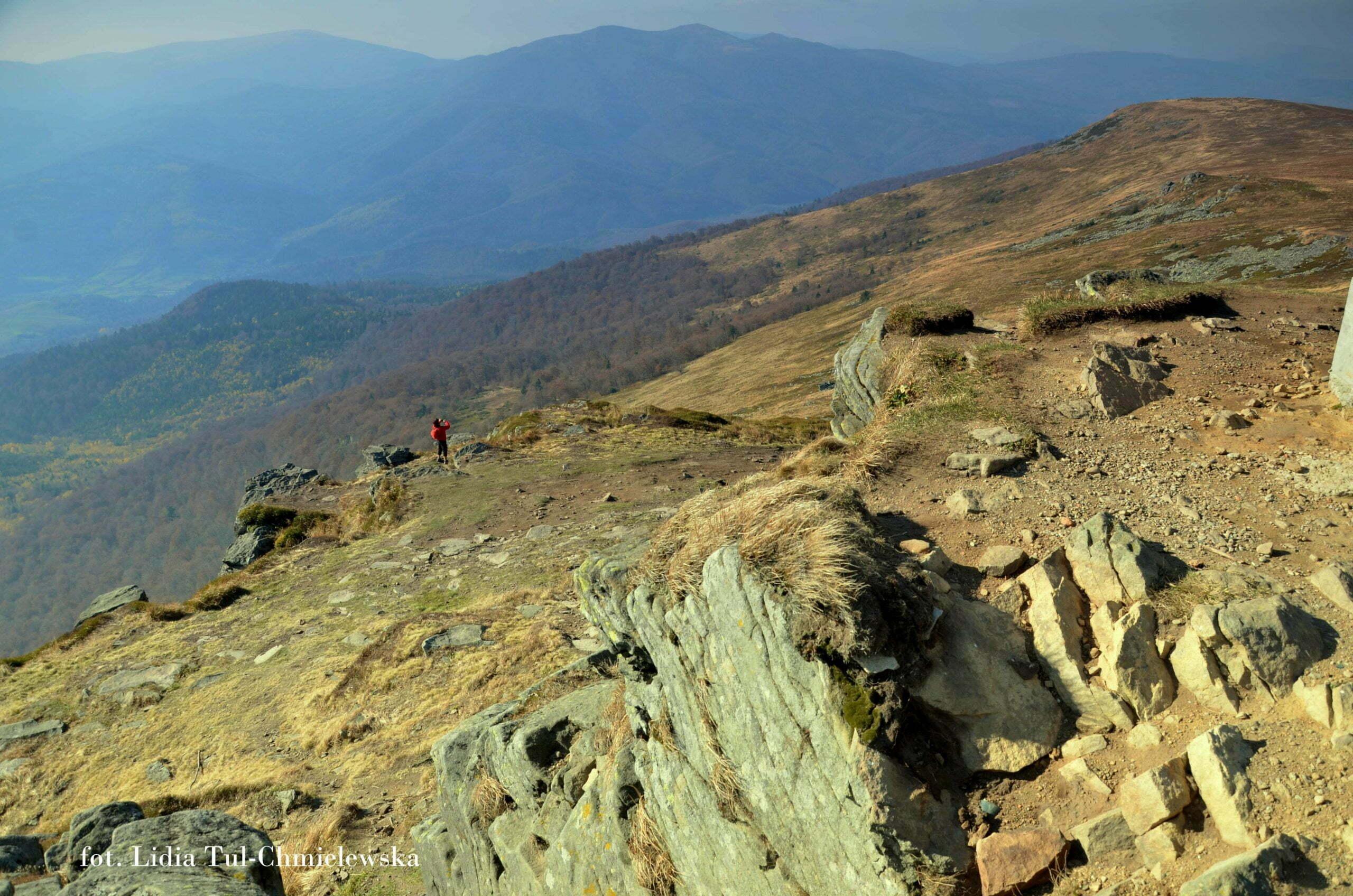 U podnóża samego szczytu Pikuja fot. Lidia Tul-Chmielewska