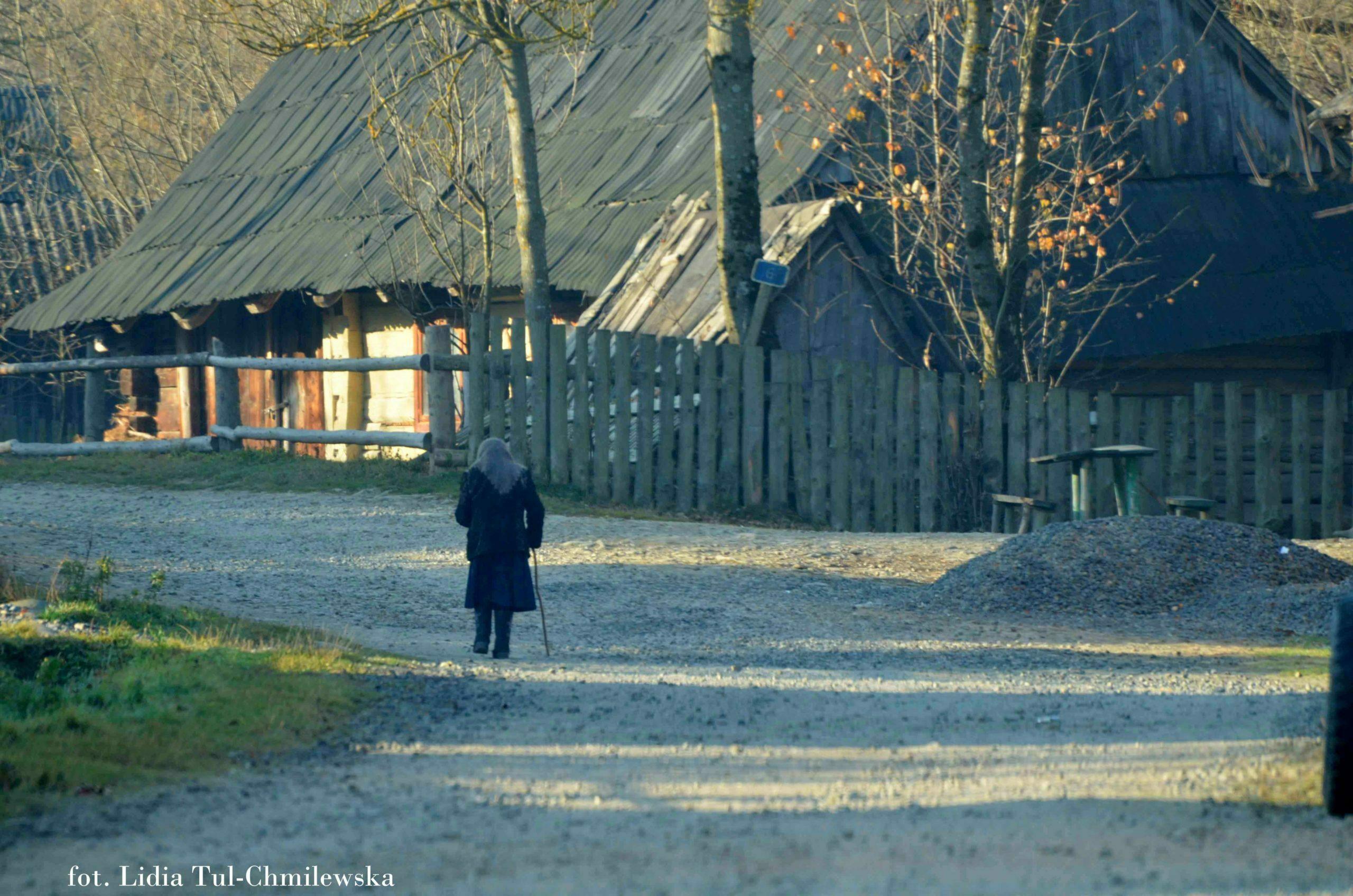 Wieś zakarpacka fot.Lidia Tul-Chmielewska