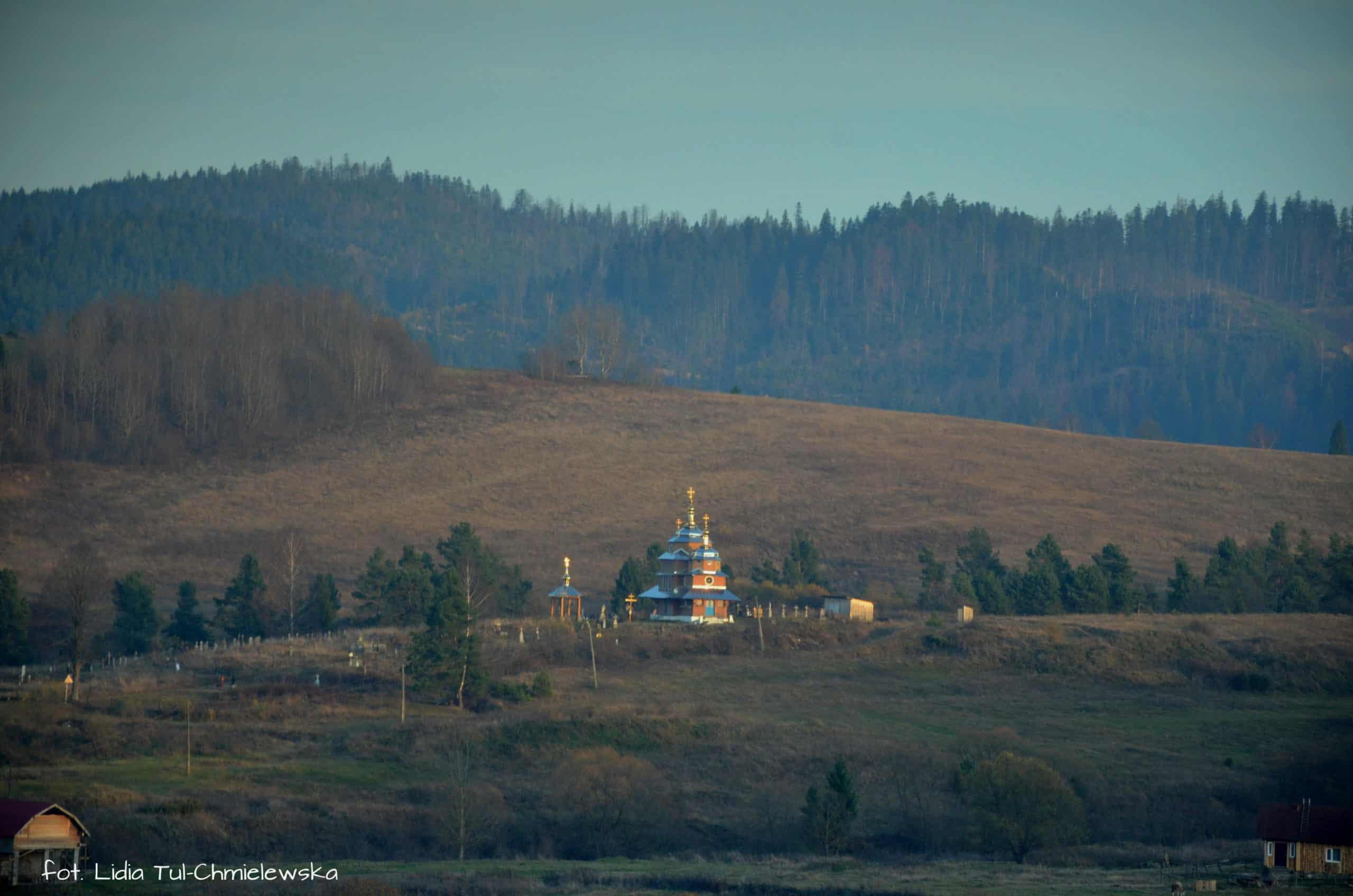 Złoto kopuł na ukraińskich wsiach fot. Lidia Tul-Chmielewska