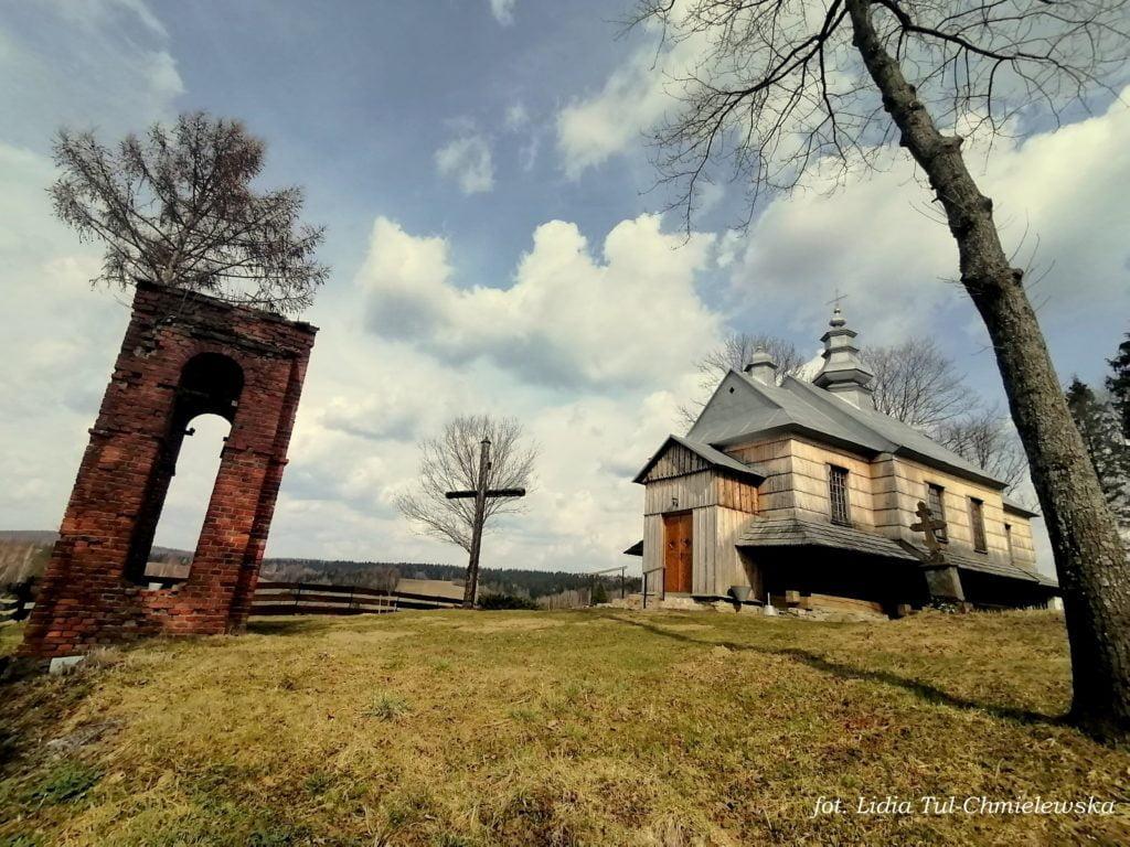 Cerkiew i dzwonnica w Jałowe fot. Lidia Tul-Chmielewska