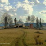 Malownicze wzgórze z cerkiewką Jałowe / fot. Lidia Tul-Chmielewska