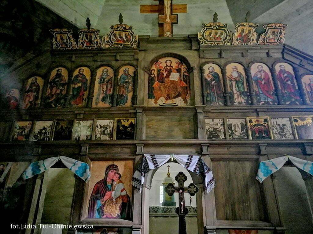 Cerkiew w Uluczu ikonostas fot.Lidia Tul-Chmielewska